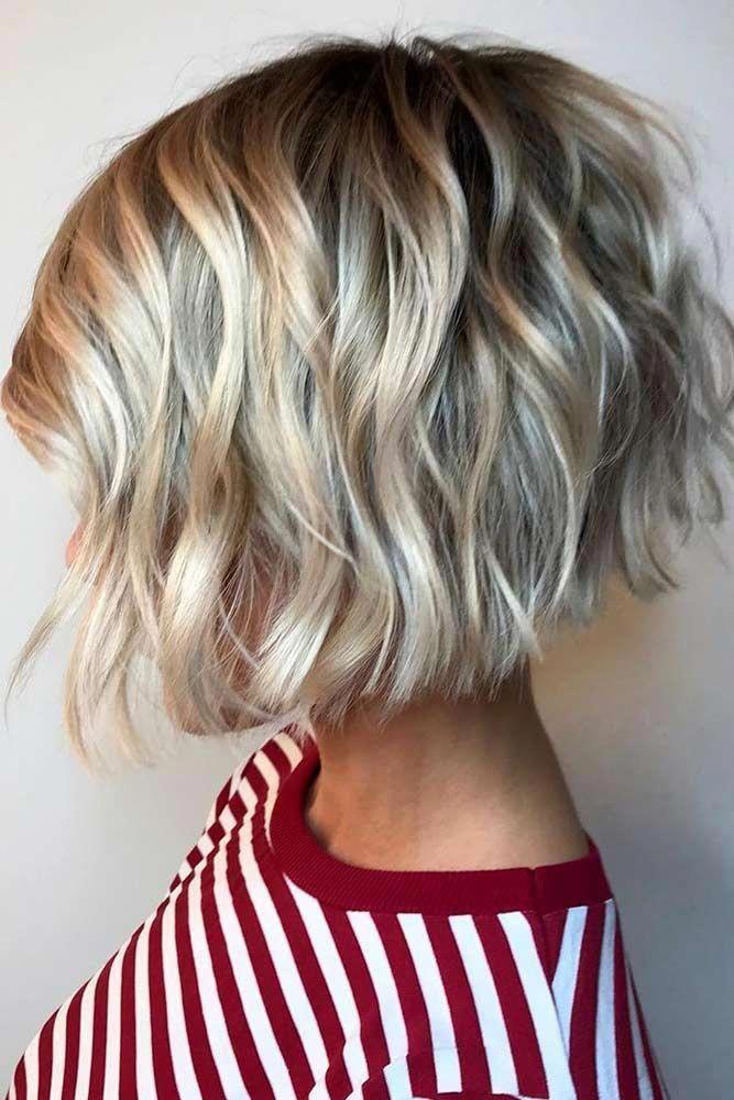 Waterfall Waves Shortwavyhair Wavyhair Shorthair Bobhaircut See The Ways On How To Get Easy Wavy Hair Messy Short Hair Short Wavy Hair Thick Hair Styles