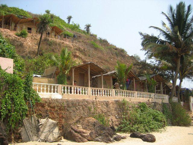 Photos Of Arambol Beach Goa Huts