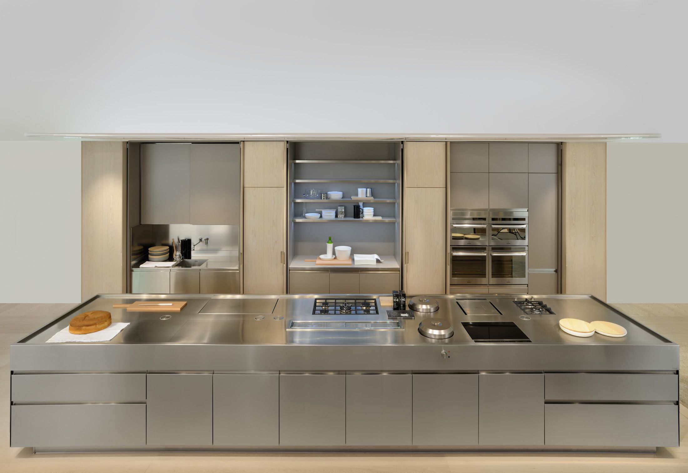 Discover All The Information About The Product Contemporary Kitchen /  Stainless Steel / Marble / Oak CONVIVIUM   Arclinea And Find Where You Can  Buy It.