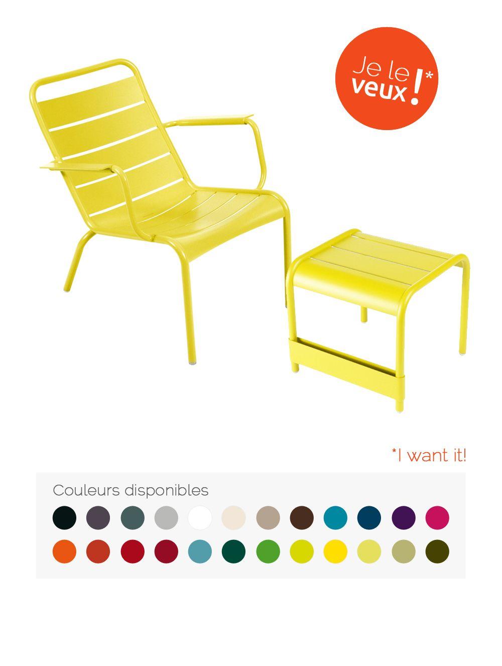Collection Luxembourg - Fermob - mobilier de jardin en métal ...