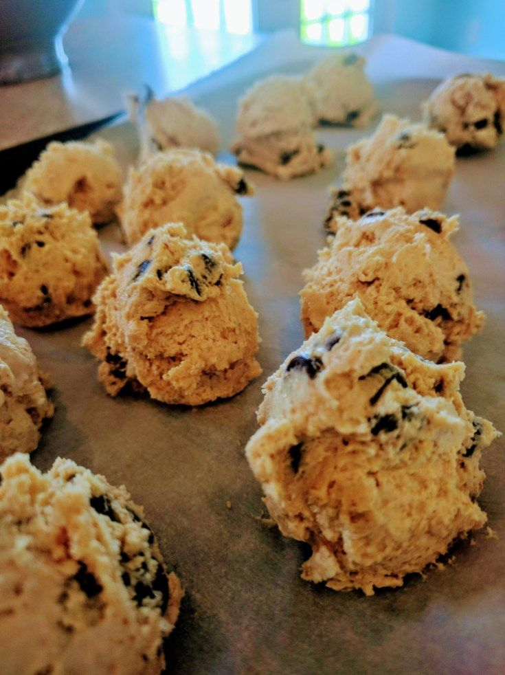 Keto Chocolate Chip Cookie Dough Fat Bombs
