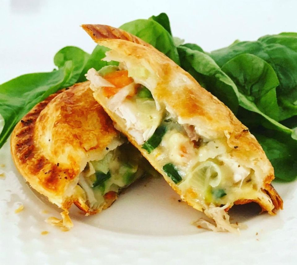 Individual Chicken And Vegetable Pies