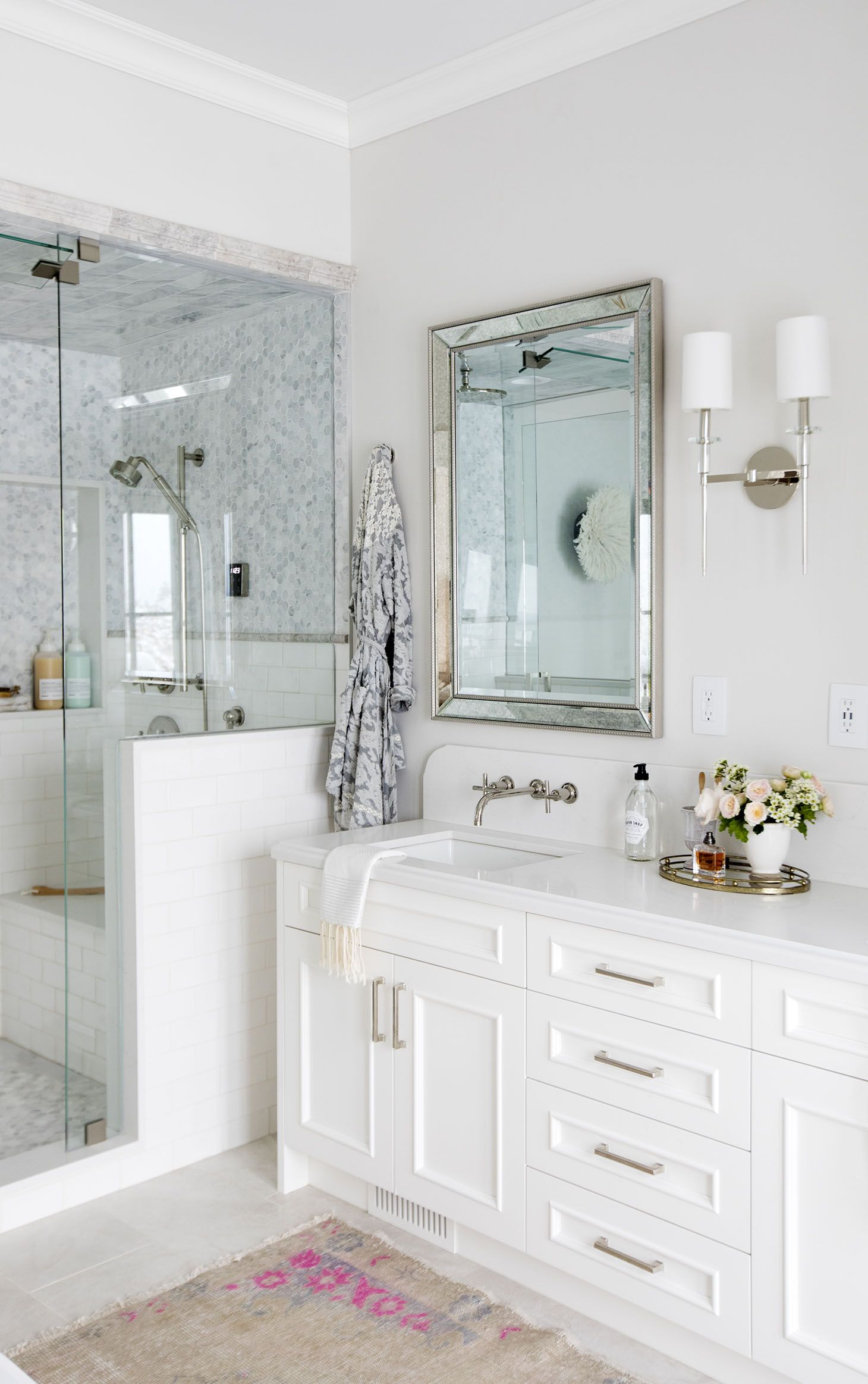 Home Tour Series Master Ensuite In 2020 Simple Bathroom Decor Bathroom Vanity Simple Bathroom