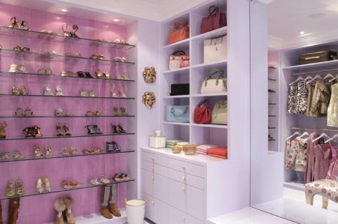 Inloopkast Met Moeilijkheidsgraad : Gorgeous pink closet inspiration pinterest inloopkast