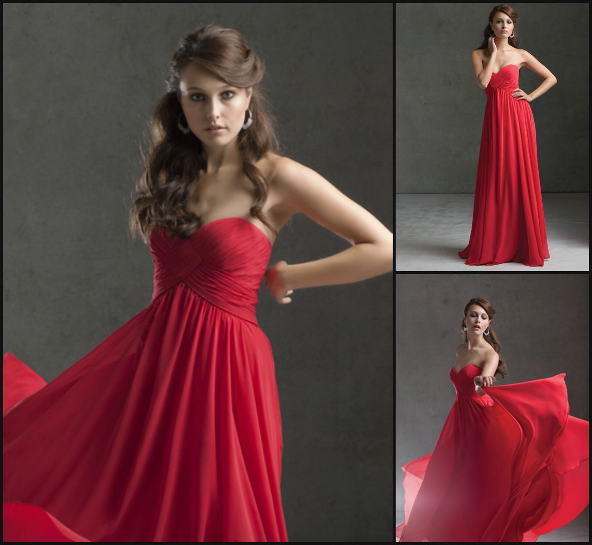 Mori Lee Bridesmaids Dress Style 671: Fall 2013. Chiffon