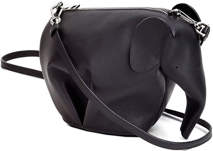 Loewe Mini Elephant Shoulder Bag