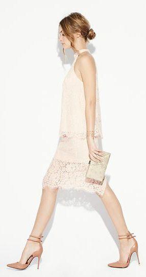 Keepsake Lace White Electric Skirt