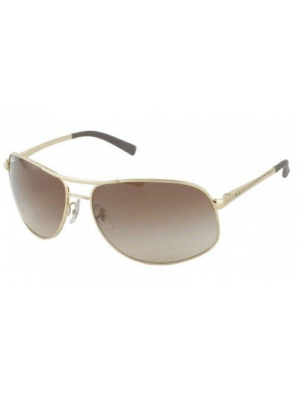 ray ban rb3387 gold