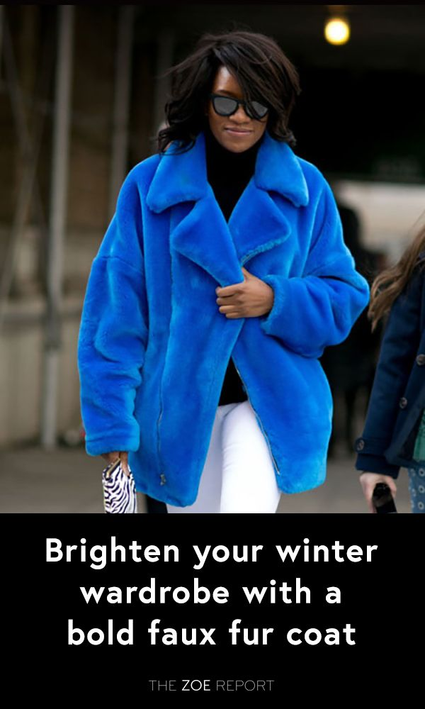 Stay snuggly and look stylish in a statement making coat!