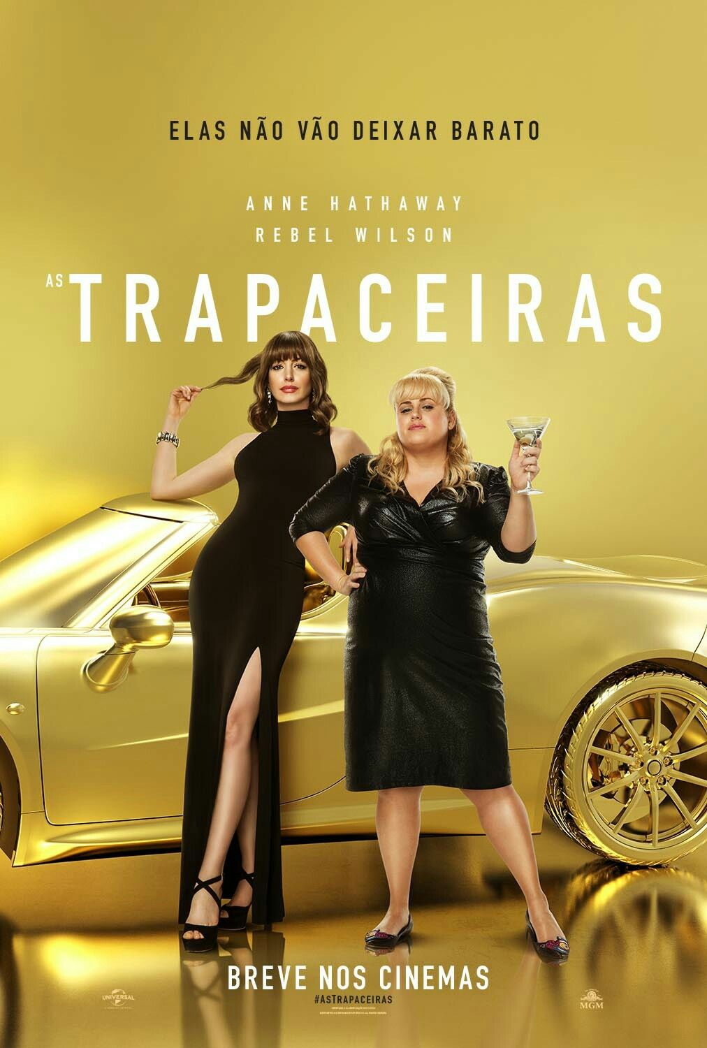 New Brazilian Poster For The Comedy The Hustle As Trapaceiras