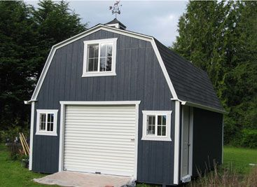 Country Barn Shed By Better Built Barns