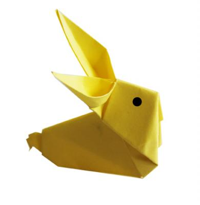 Origami : lapin en origami- Tête à modeler en 2020 | Origami, Pliage, Paques