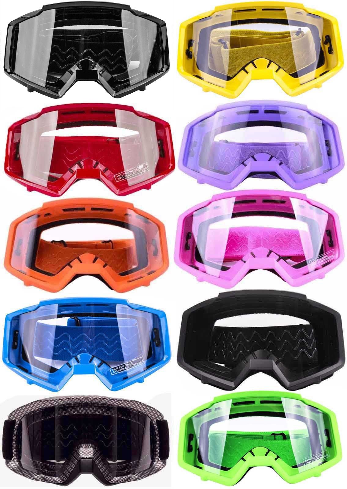 Motocross Motorcycle ATV MX Adult Fog Dirt Bike Off-Road Helmets Goggle Eyewear