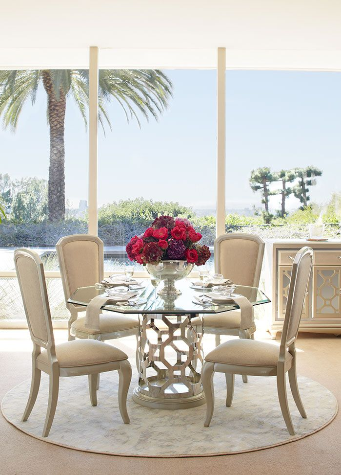 After Eight Round Dining Table \u2013 Pearl Finesse Home Living