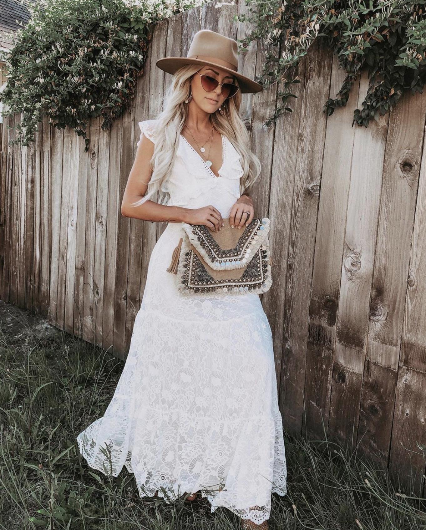 Vici Emilyrosehannon Off White Lace Dress Tiered Maxi Dress Maxi Dress [ 1694 x 1362 Pixel ]
