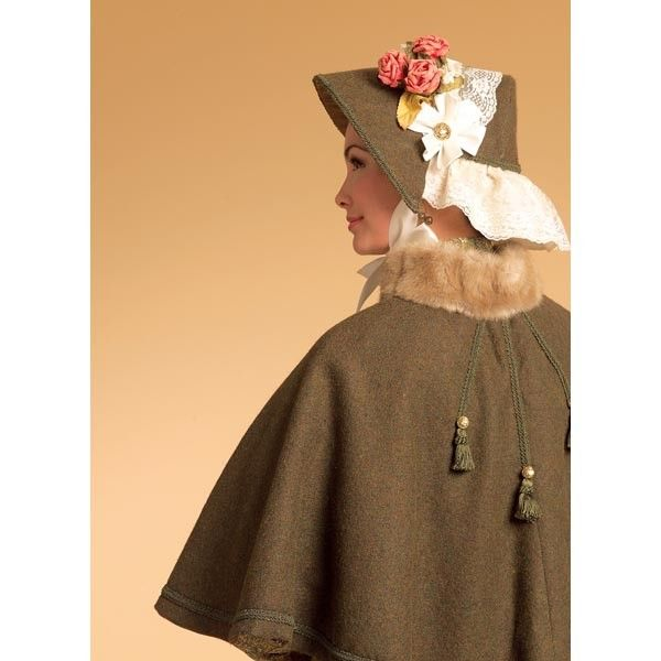 Butterick B5265 Sewing Pattern - Misses' Historical Costume - CraftStash