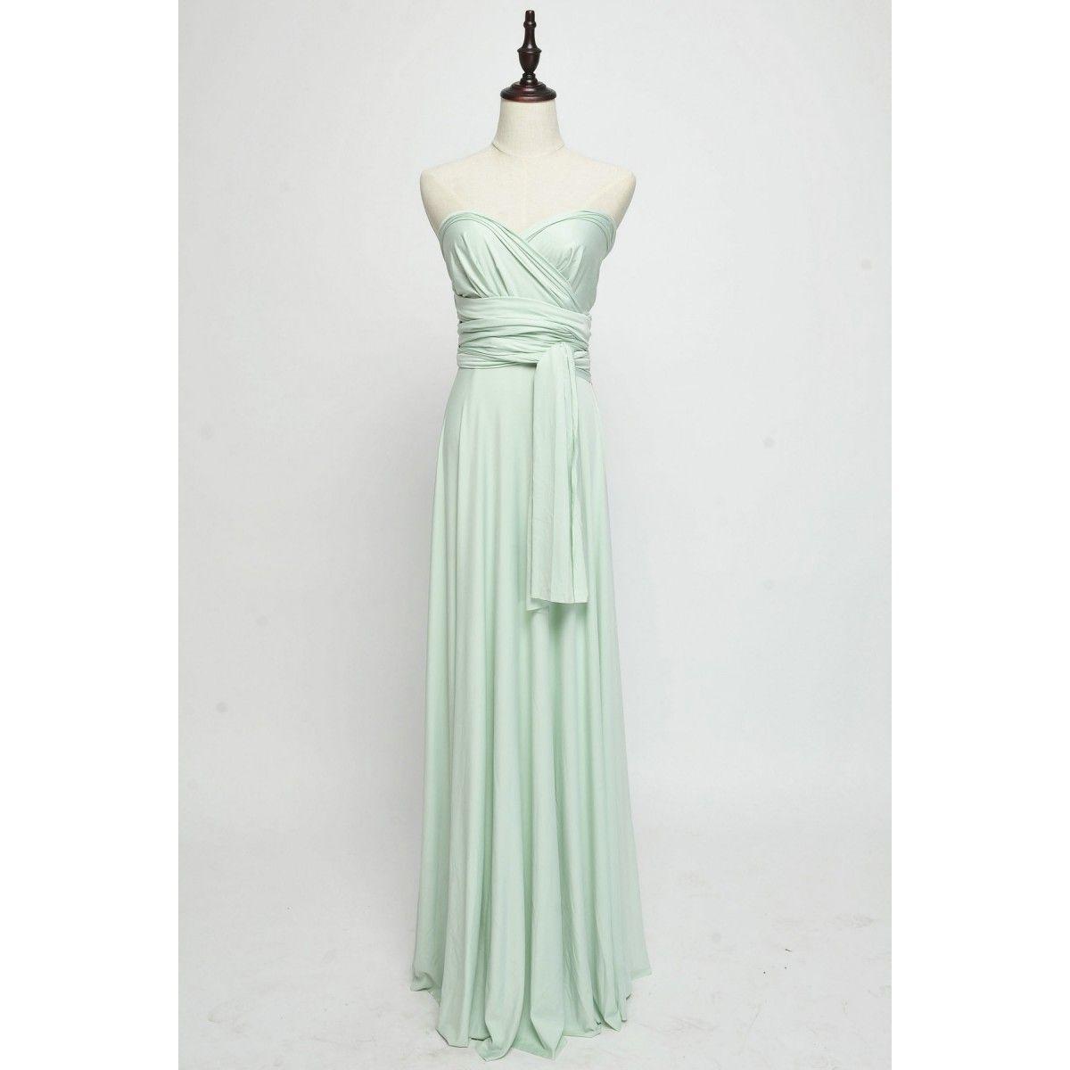 Pin lisääjältä allinone dresses taulussa infinity bridesmaid dress