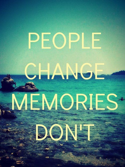 People Change Memories Dont Heartbroken Girl People Change