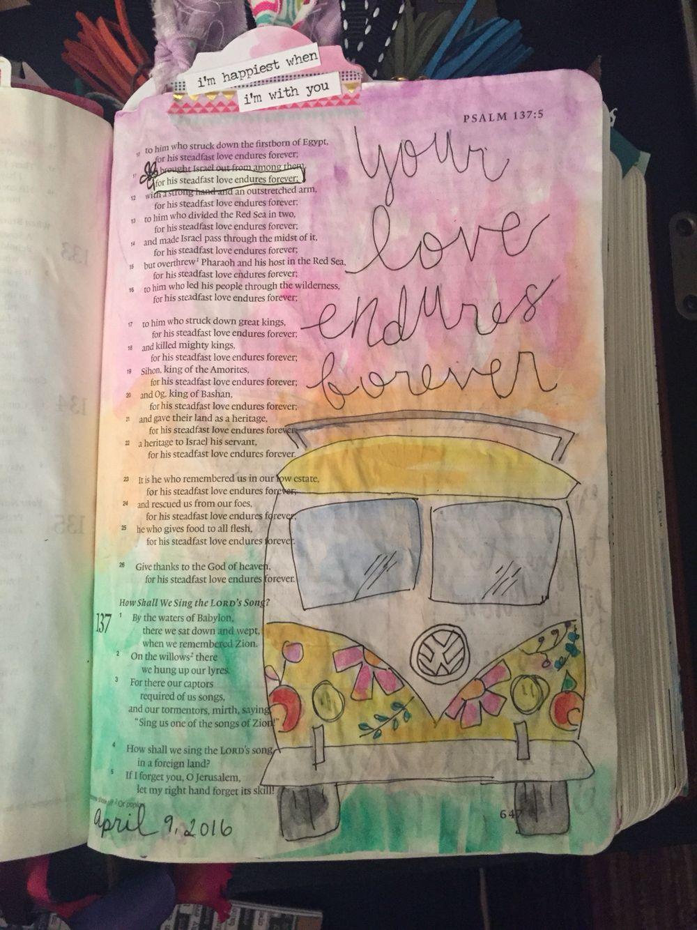 Psalm 137 11 Inspired By Shelbymaryann Bible Journaling
