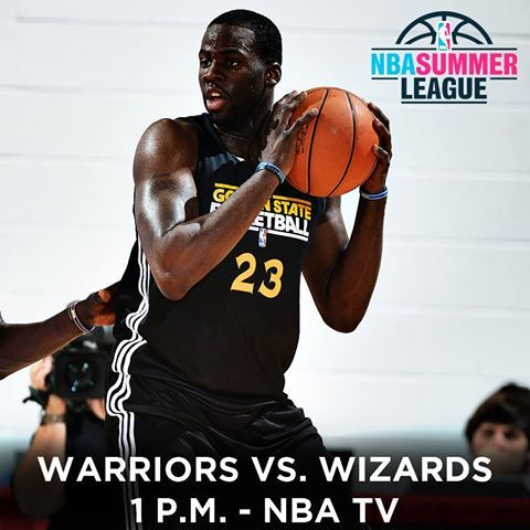 Hello Vegas!!! The Warriors begin play in the NBA Summer League today and you can watch their game against the Wizards live on NBA TV at 1 p.m.