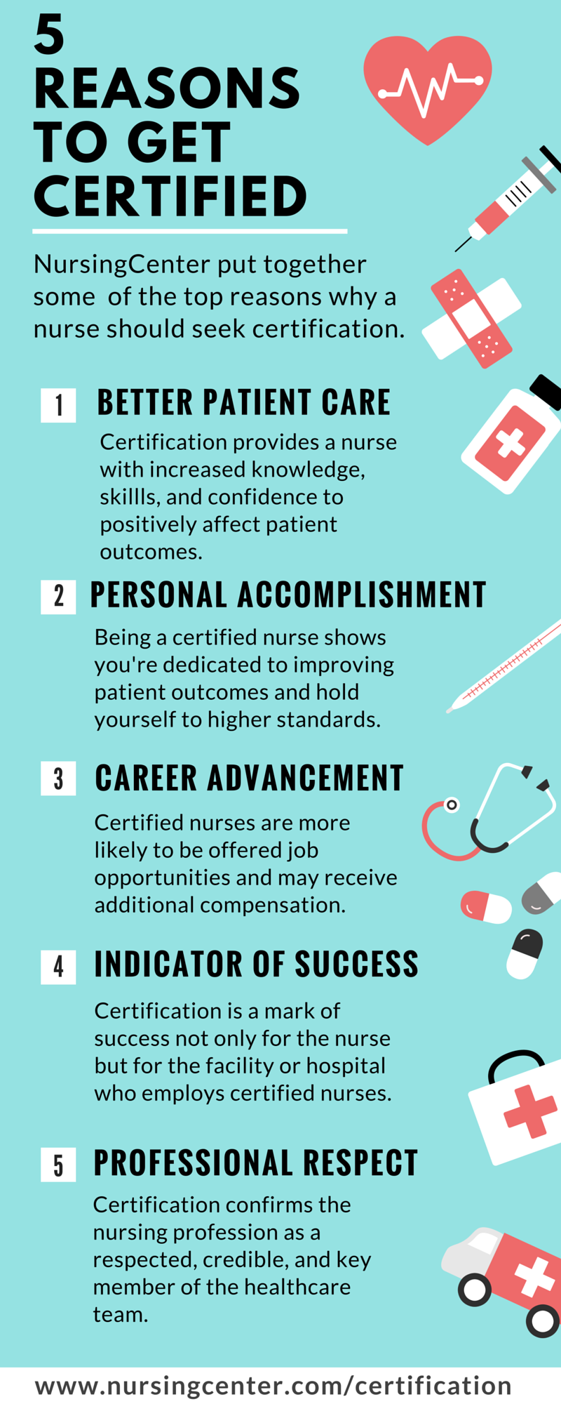 Top reasons why a nurse should become certified in a specialty top reasons why a nurse should become certified in a specialty xflitez Gallery