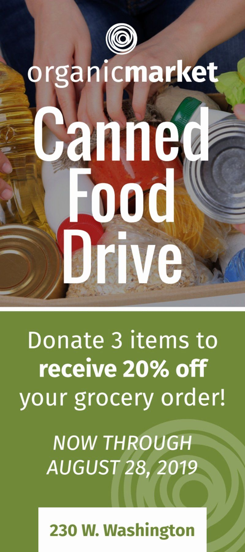 Food Drive Flyer Template Word Free