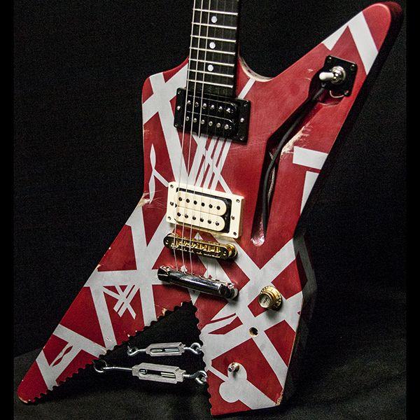 Van Halen Shark Guitar Replica 1