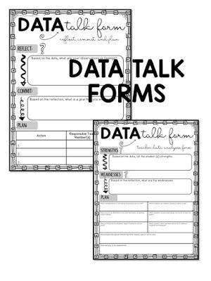 Data Talks And Documentation Forms With Ease  Principal School