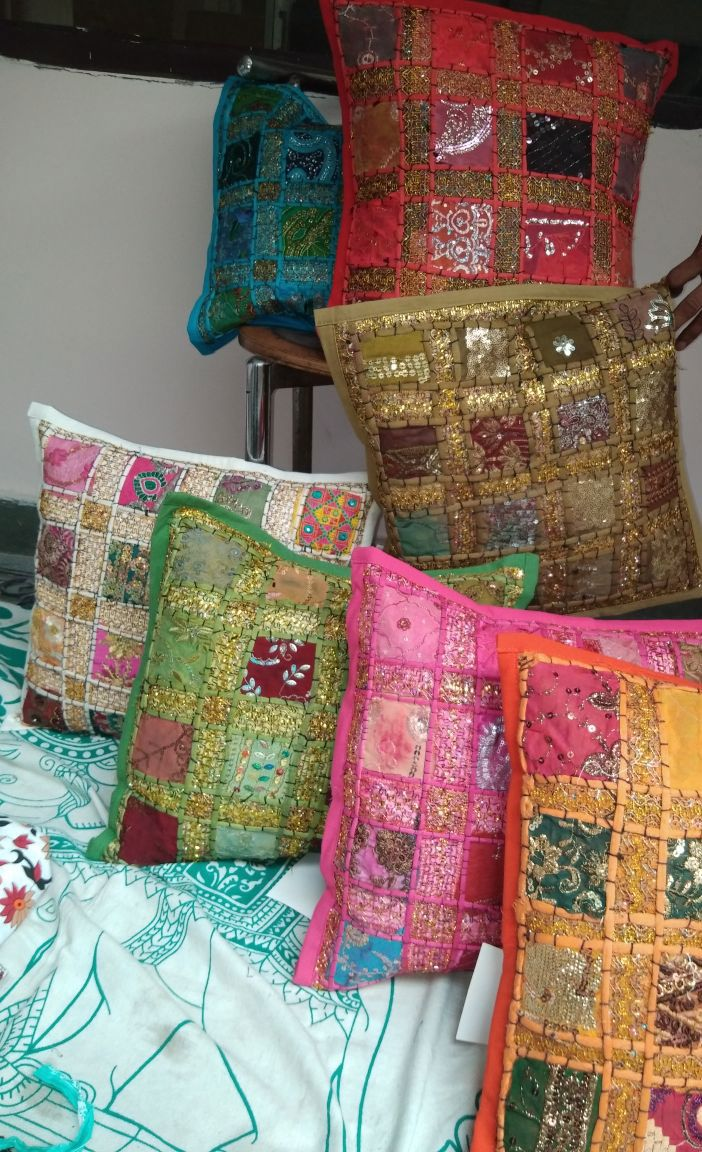 Handmade Sequin Decorative Pillow Decorative pillow Pinterest