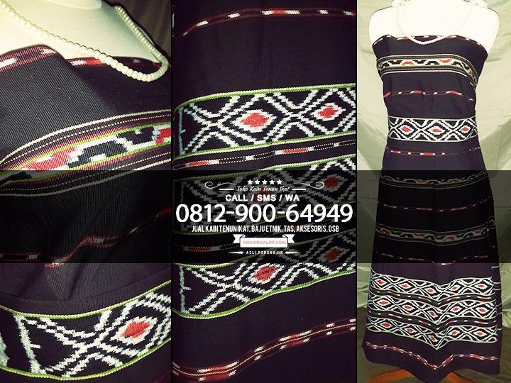 Toko Kain Tenun Ikat Baju Etnik Nusantara Promo Material