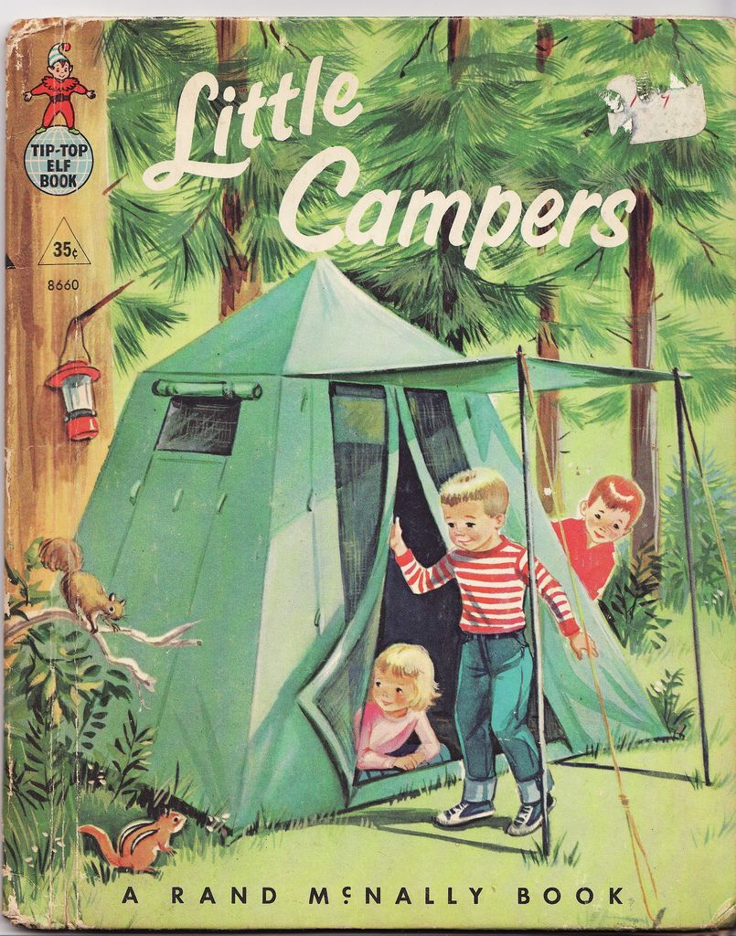 Brother And Sister Go Camping