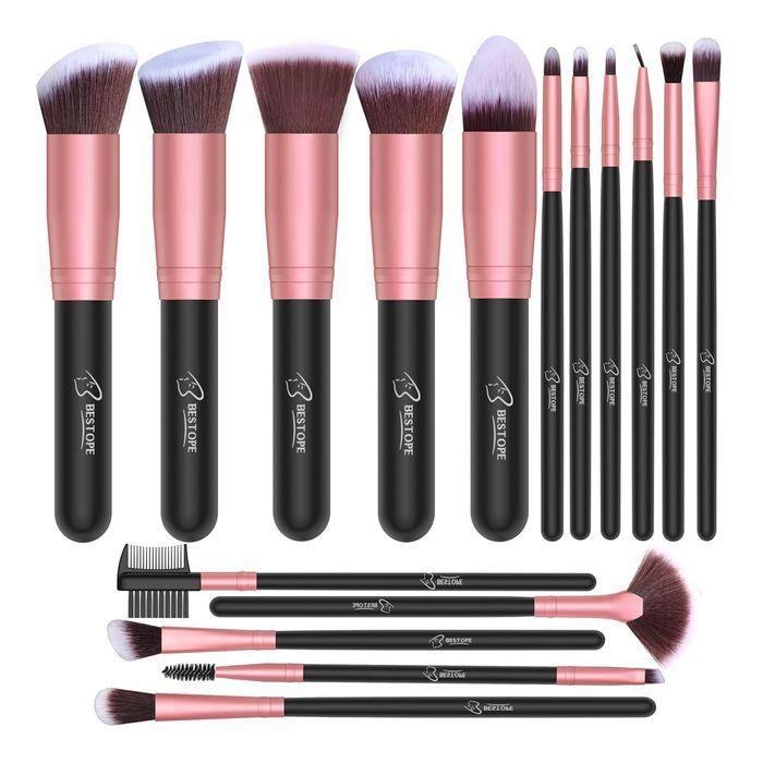 Bestope Makeup Brush Set In 2020 Makeup Brush Set Bestope Makeup Brushes Makeup Brushes