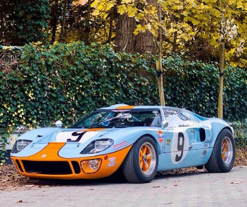 Gt Cars, Ford Racing, Ford Gt40