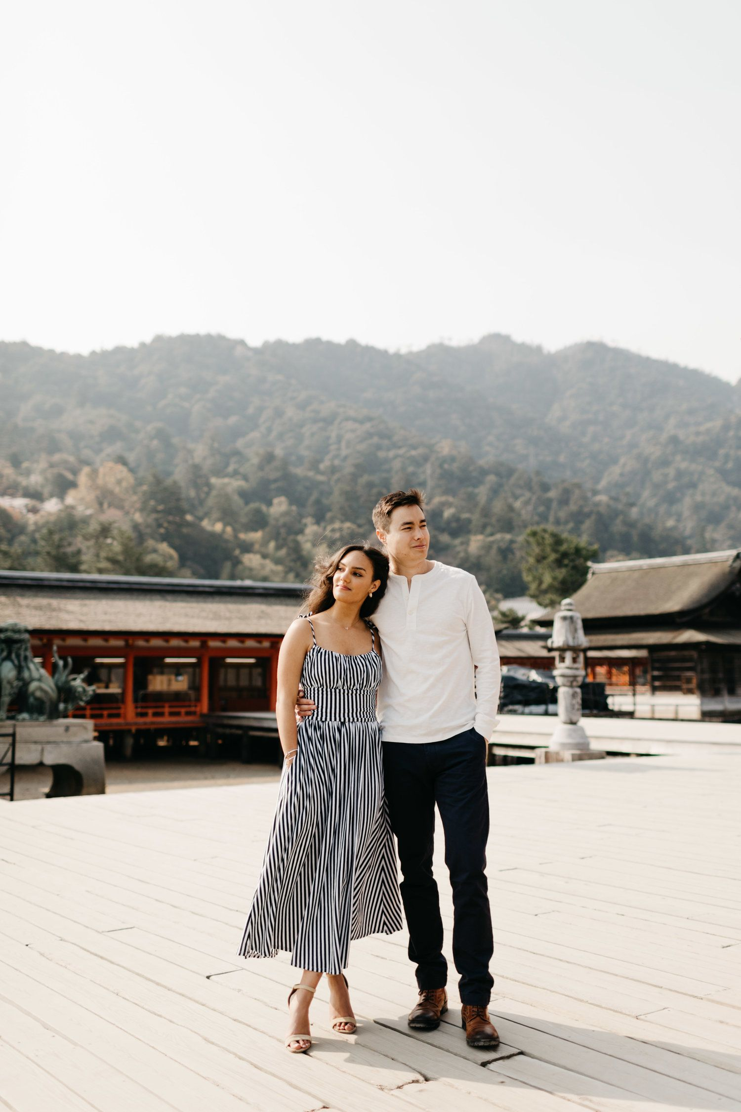 Miyajima Engagement Shoot | Couples Poses | Engagement shoots, Elope