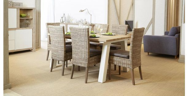 Juliette Small Fixed Table & Set Of 4 Rattan Chairs Juliette  Dfs Amusing Dfs Dining Room Furniture Design Inspiration