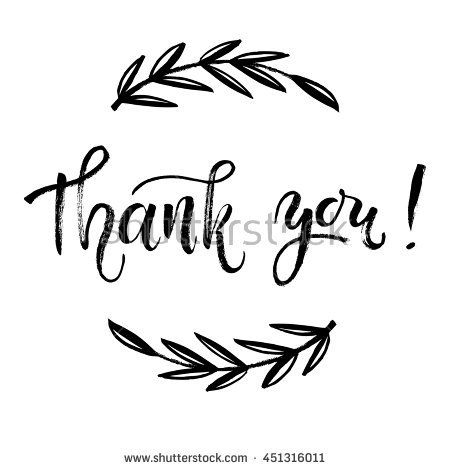 Free Printable Calligraphy Words Thankful Stock Photos Royalty Free Images Vectors Thank You Card Template Thank You Card Design Hand Lettering Cards