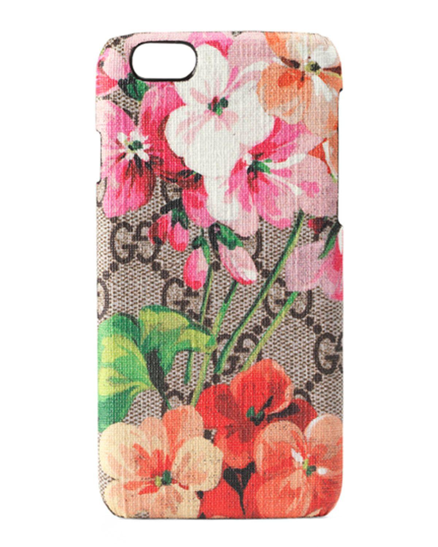 8ec25f2fc7d49 GG Blooms iPhone 6 Case Multicolor in 2019 | *Neiman Marcus ...