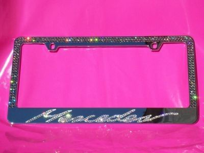 mercedes benz bling tag bling license plate frame
