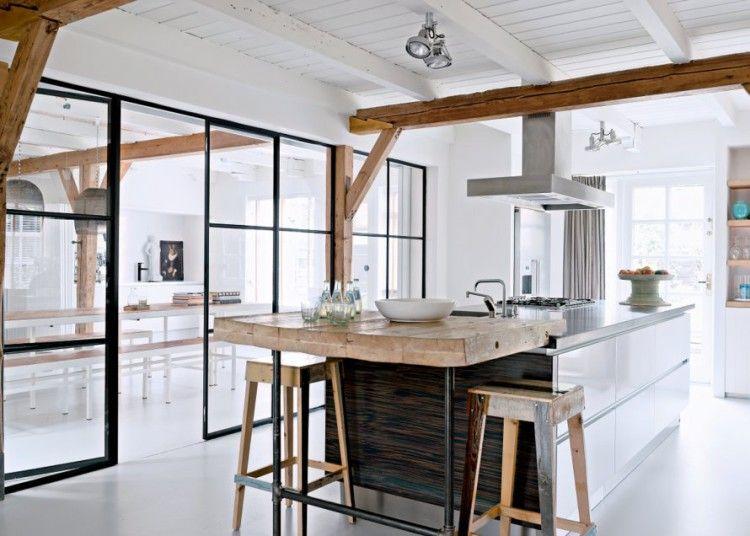 123 Keukens Inspiratie : Stalen deuren inspiratie woonkamer in