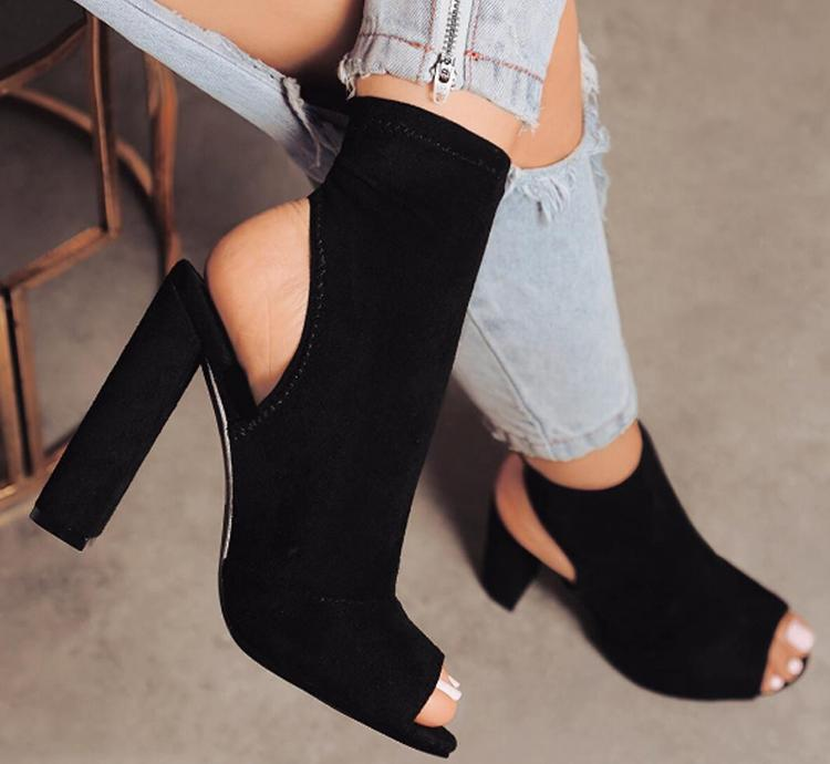 Cheap boot shoes, Buy Quality women boots shoes directly from China boots  peep toe Suppliers: Parkside Wind Sexy Women Boots Fashion Ankle Boots Peep  Toe ...