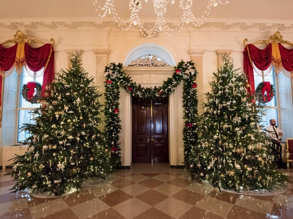 White House Christmas Tour 2016 Part Ii Christmas Festivities Christmas White House Christmas Tree Festival Decorations