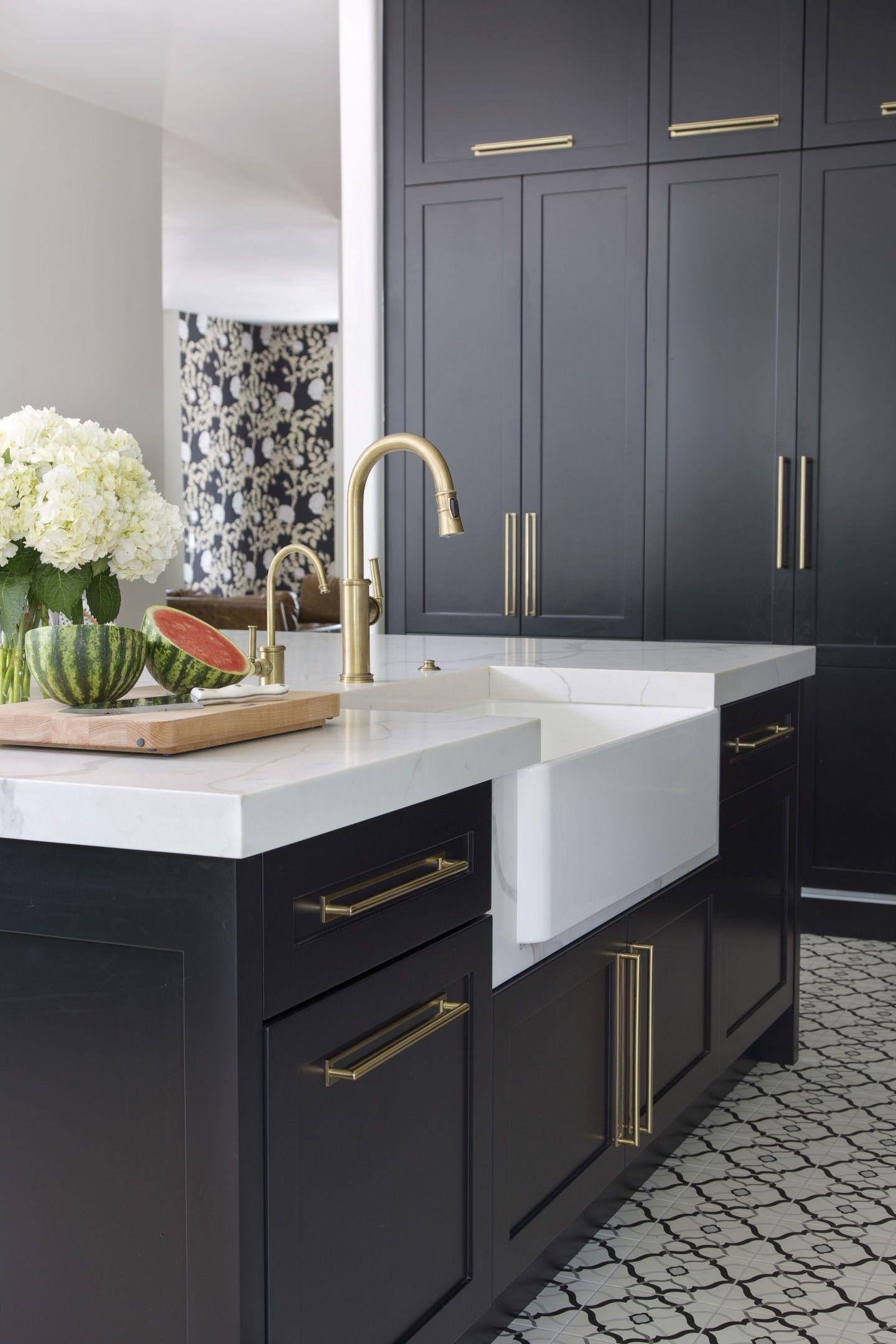 Black & Brass - Exquisite Kitchen Design - Portfolio ...