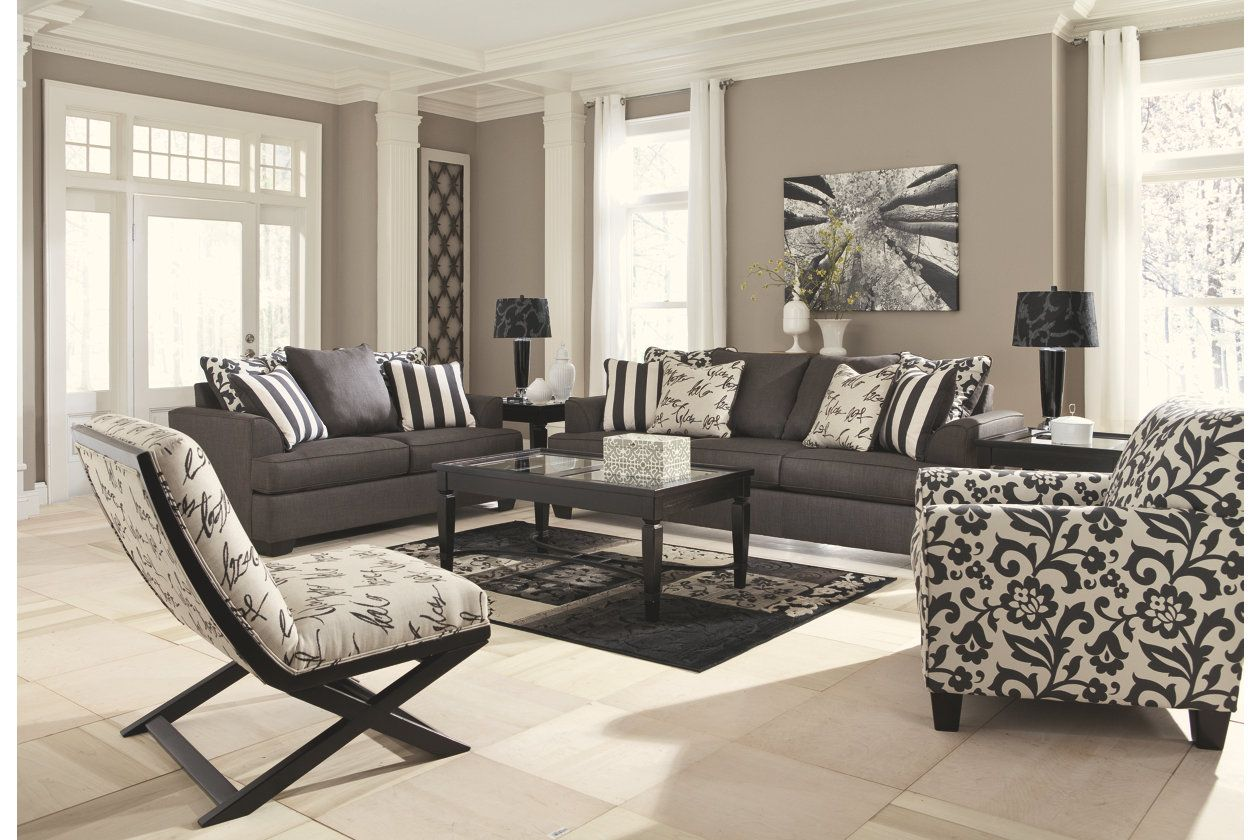 Levon Chair Ashley Furniture Homestore Leather Living Room Set