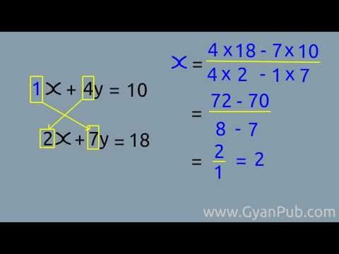 Cool Math Tricks - Multiplying simultaneous equation | Maths ...