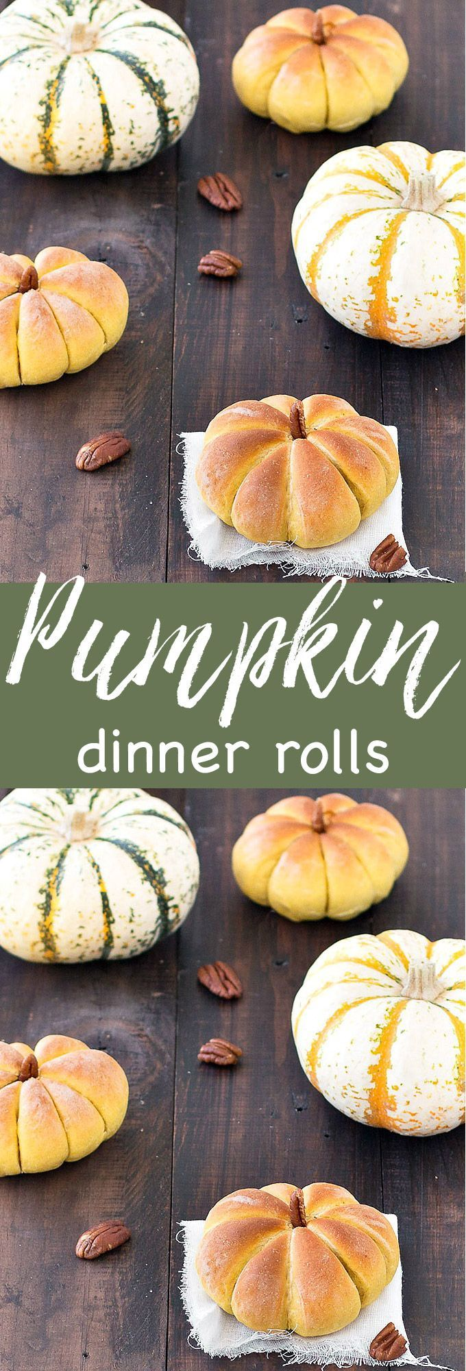 Pumpkin Dinner Rolls - As Easy As Apple Pie