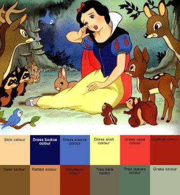 Snow White Colors