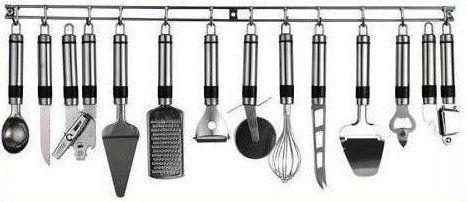 Edelstahl Küchenhelfer Set 13 Teile: Amazon.de: Küche & Haushalt