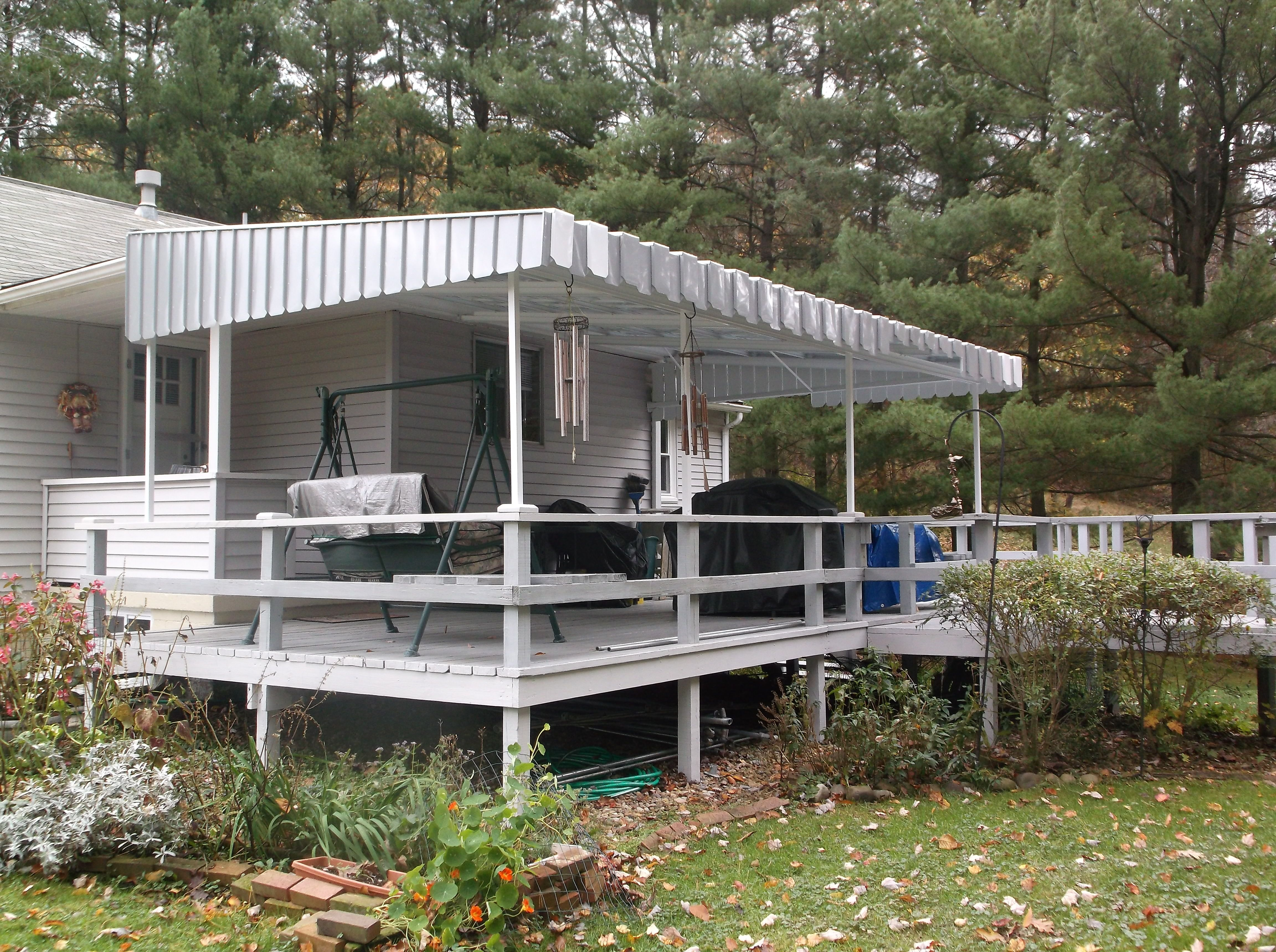 Awnings Pittsburgh Pa Retractable Aluminum And Canvas