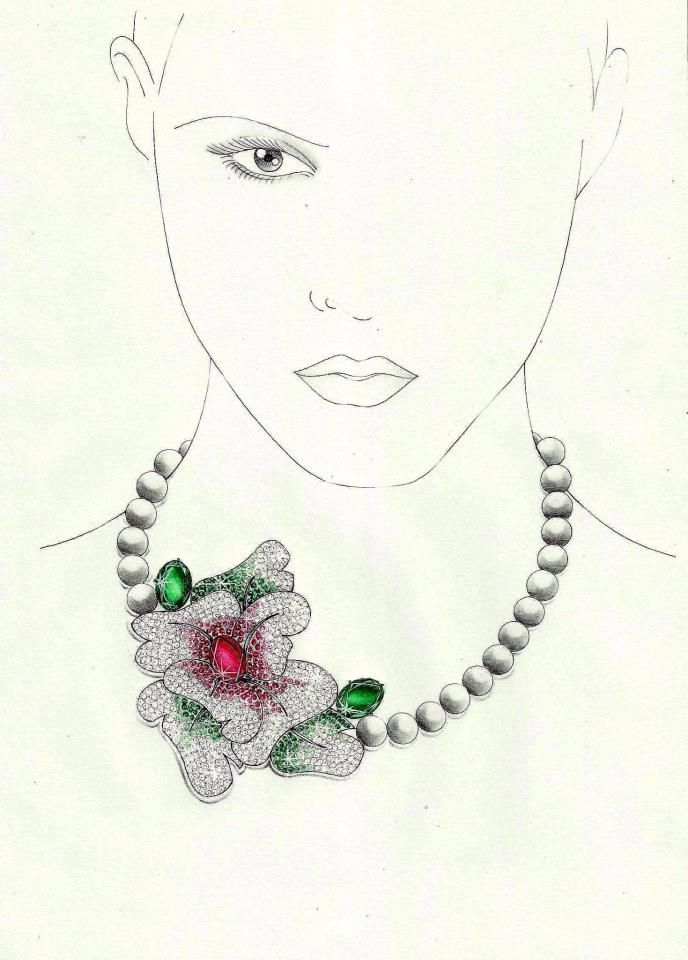 Pin by Inaccessibleaccessories on INACCESSIBLE JEWELLERY SKETCHES ...