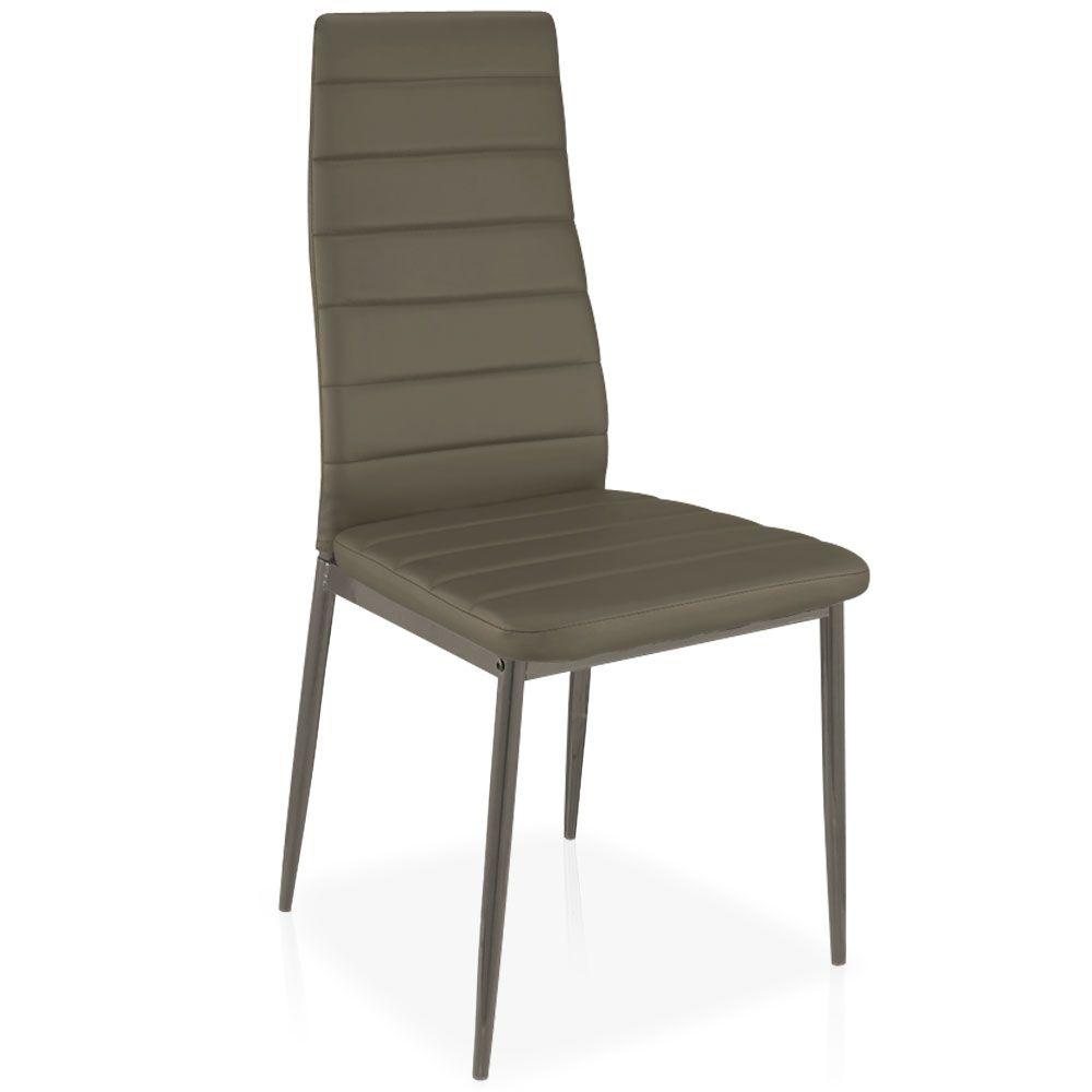 Lot De 4 Chaises Stratus Taupe En 2020 Chaise Table Console
